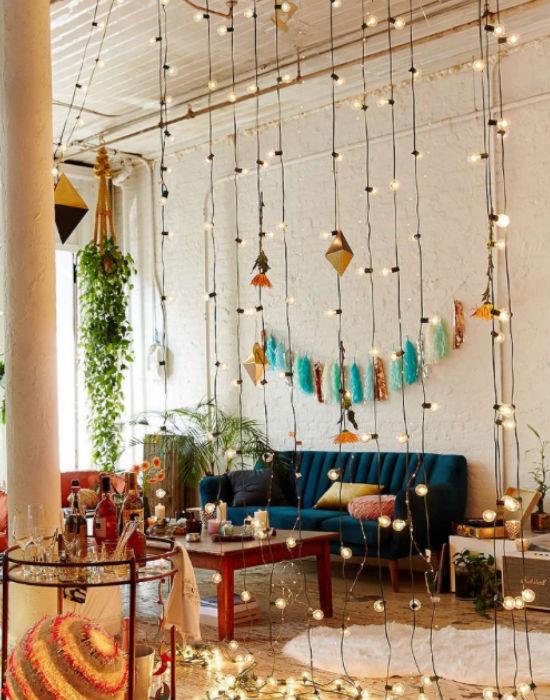 Inspirálódj! 10 égősor-ötlet, amelyekkel könnyedén feldobhatod a lakásod!