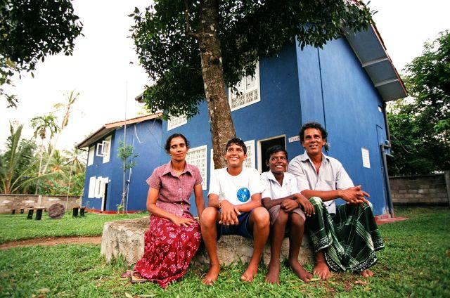 A Help Falu egyik családja