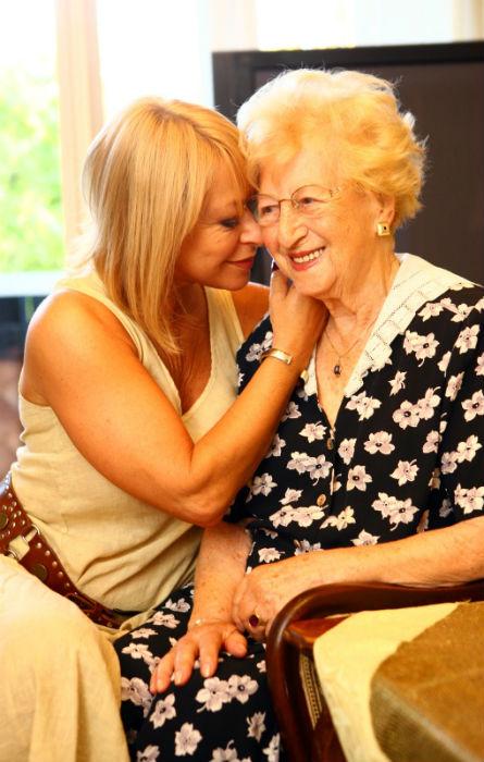 Lilike néni 104 éves volt
