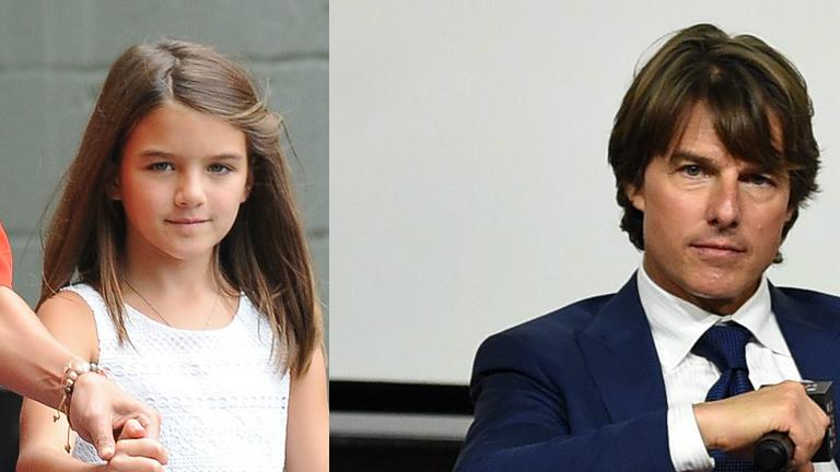 9 éves Suri úgy néz ki, mint az 53 éves Tom Cruise