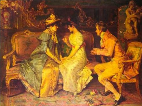 Klasszikus festményeken koppannak hatalmasat a férfiak
