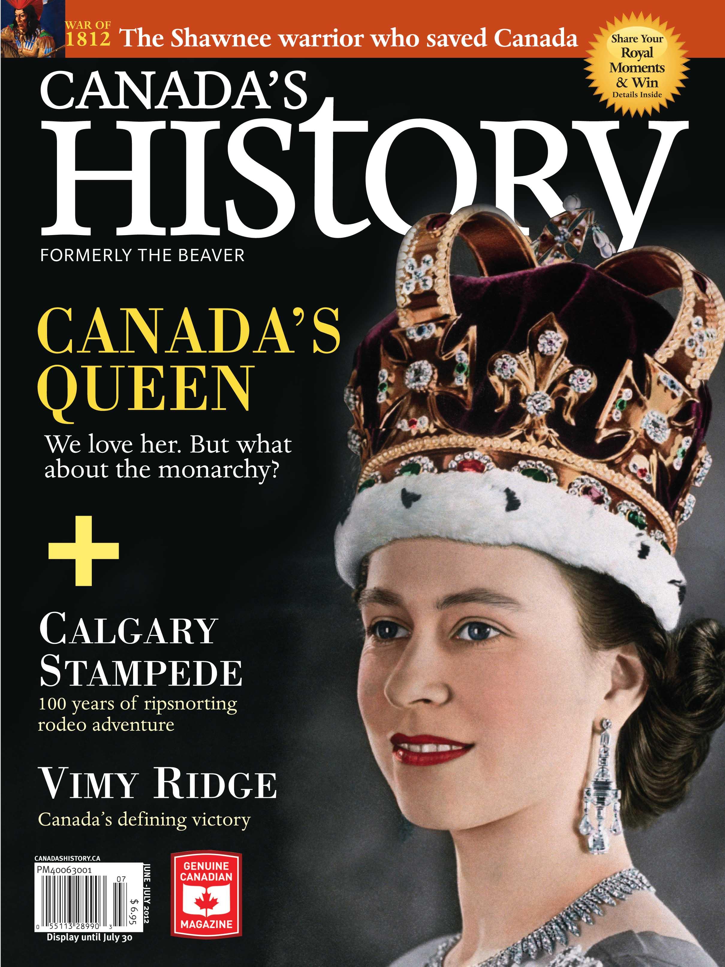 63 éve a trónon - 13 címlap II. Erzsébetről
