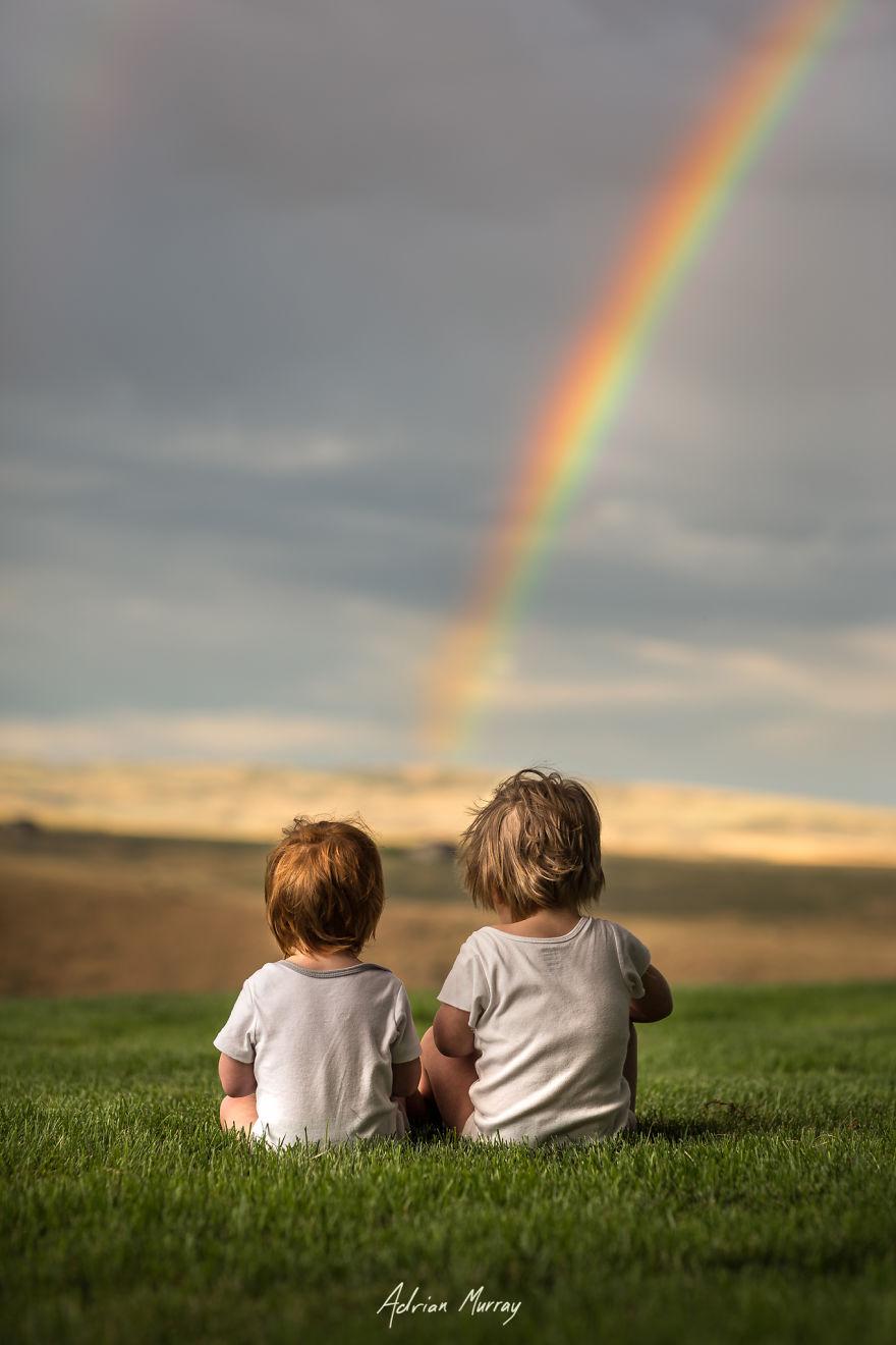 Csodás képeken örökítette meg a nyár legszebb pillanatait a két gyermekes anyuka