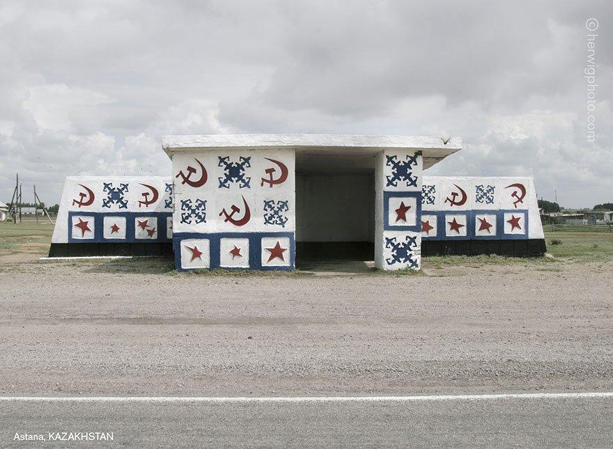 Ezek a legmegdöbbentőbb orosz buszmegállók