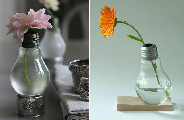 Őrületesen menő dekorációs ötletek villanykörtékből – fotók