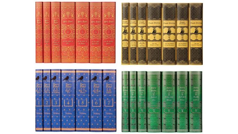 Rajongók, figyelem: új Harry Potter kiadások a négy ház színeiben