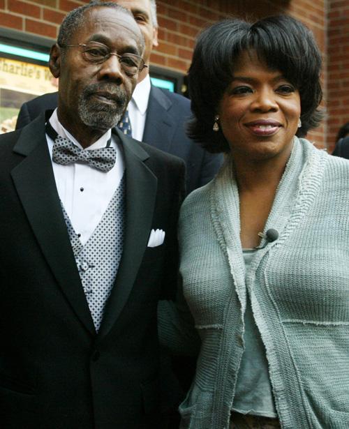Vernon Winfrey és lánya Oprah