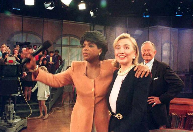 Oprah Winfrey és vendége Hillary Clinton