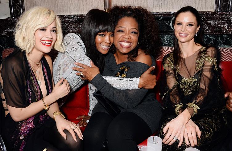 Rita Ora, Naomi Campbell, Oprah Winfrey és Georgina Chapman