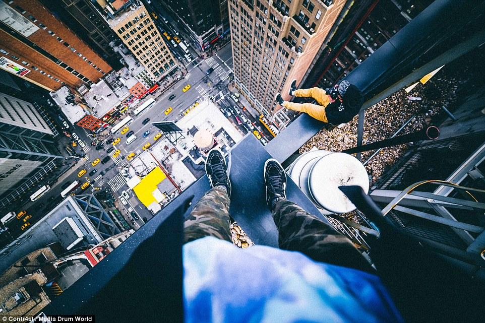 New York-i tini a világ tetején - Csak erős idegzetűeknek!
