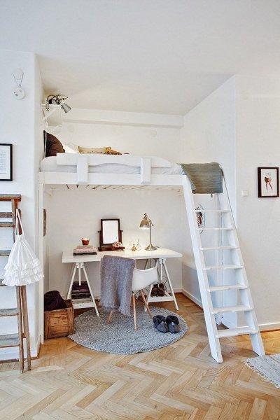5 tipp kicsi lakásokhoz: hogyan helyezd el az ágyat?
