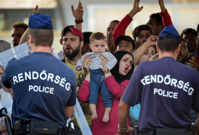 Fotó: AFP/Kisbenedek Attila