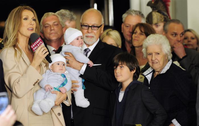 Celine Dion így búcsúzik a férjétől