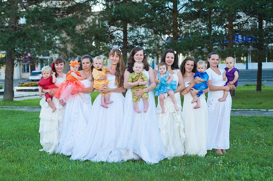 Szivárvány babák, a remény gyermekei- gyönyörű fotók