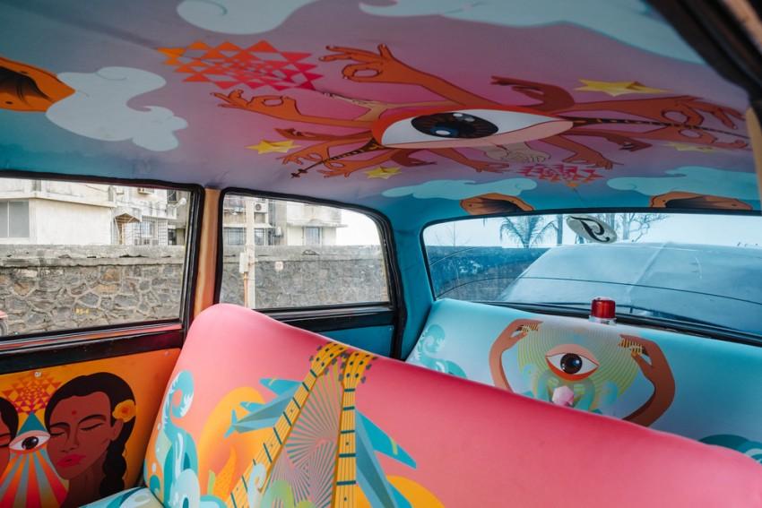 Taxiból műalkotás - Indiai designerek teljesen átalakították a kocsikat