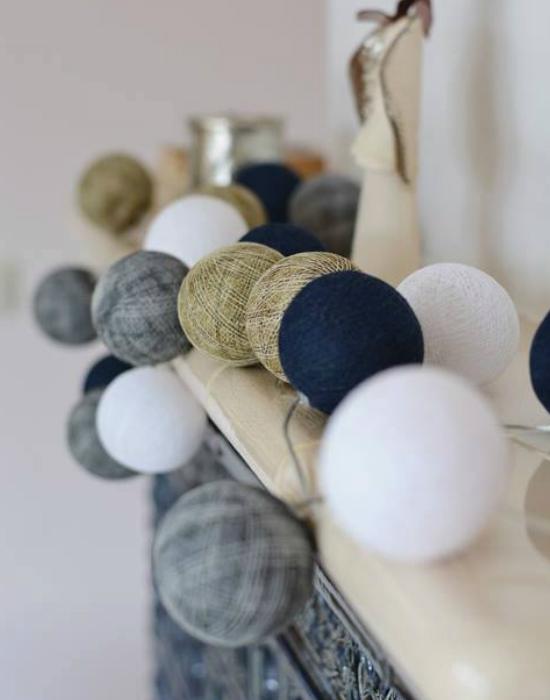 MInden színösszeállításban tökéletesek a gömblámpák