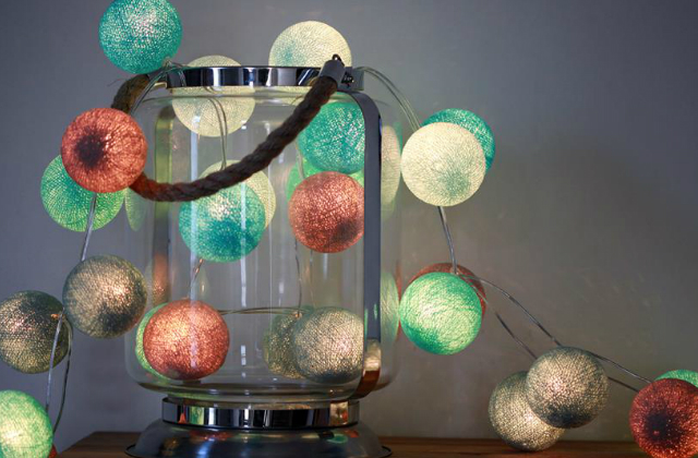 Cotton Ball Lights Balaton
