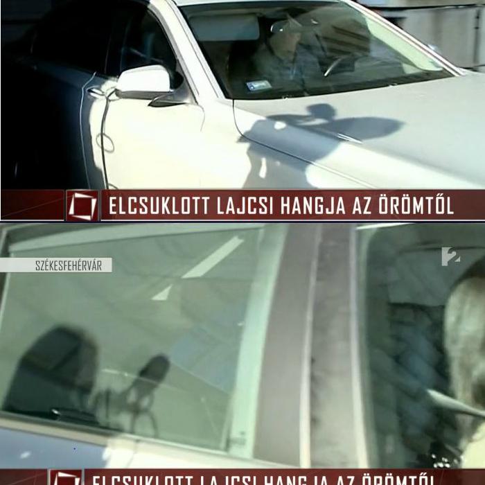 Galambos Boglárkát egy lesötétített hátsó ablakú autóban vitte ki az ügyvéd. Az asszony