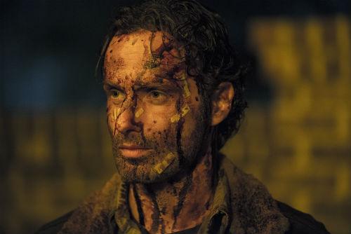 Andrew Lincoln, a The Walking Dead Rickje: