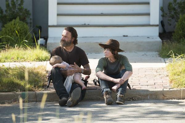 Chandler Riggs, a The Walking Dead Carlja -