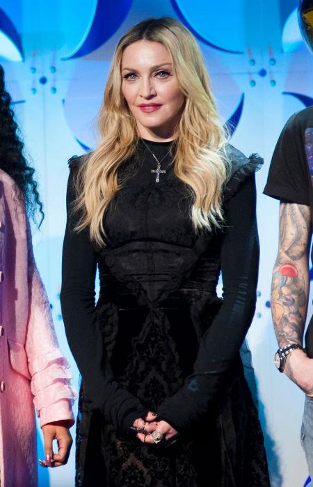 Drog miatt kapcsolták le Madonnát a zsaruk