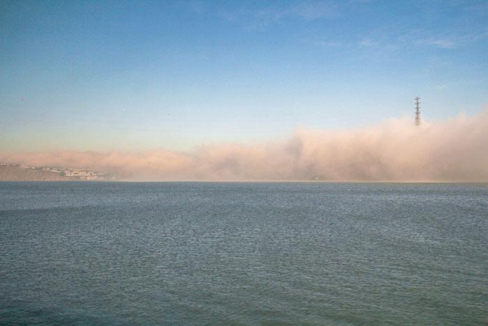 San Francisco eltűnik a ködben