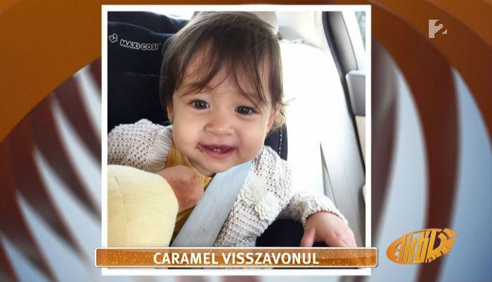 Caramel kislányának ez volt az első szava