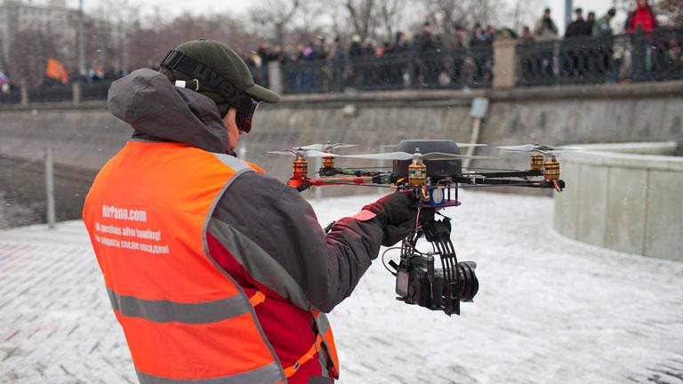 A fotózás és filmezés csak egy a drónok megannyi lehetséges felhasználása közül (Fotó: Tumblr)
