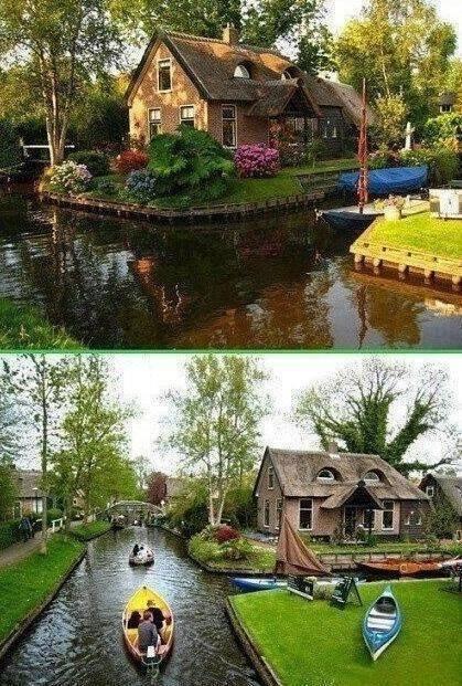 Holland csodaházak, ahová te is szívesen beköltöznél