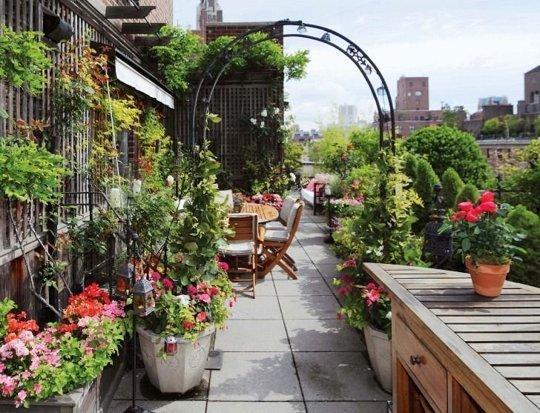 New York bűbájos balkonjai
