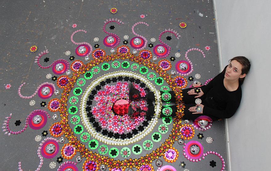 Művészi mandalák, ahogy sosem láttam