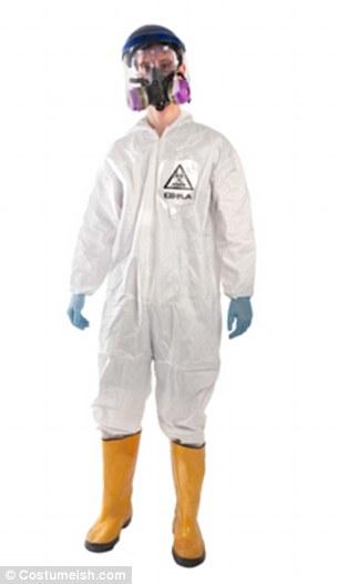 Egy jelmez ebola témában