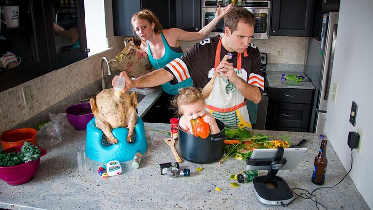 Meghökkentően őszinte képek - Élet a káoszban szülőként