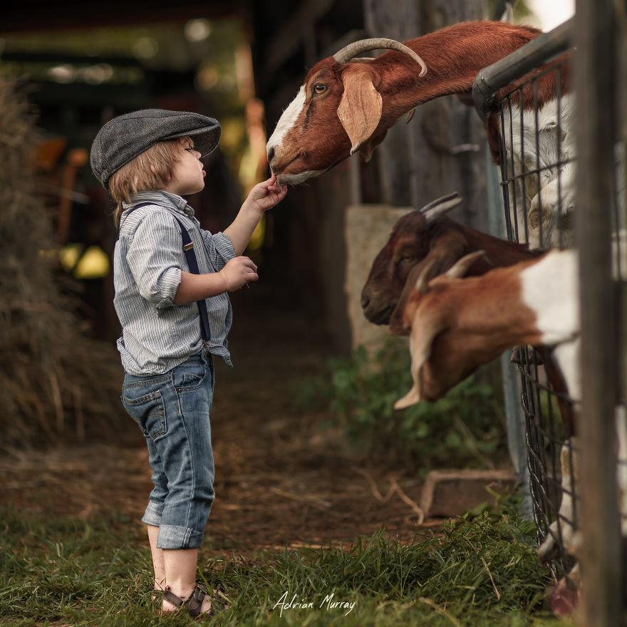 Idill, amitől te is kedvet kapsz a vidéki gyerekneveléshez