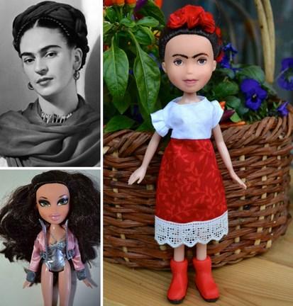 Mi van ha a túlsminkelt Disney-babák emberi arcot kapnak?