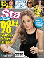 37 kilós Angelina Jolie kórházi kezelésre szorul