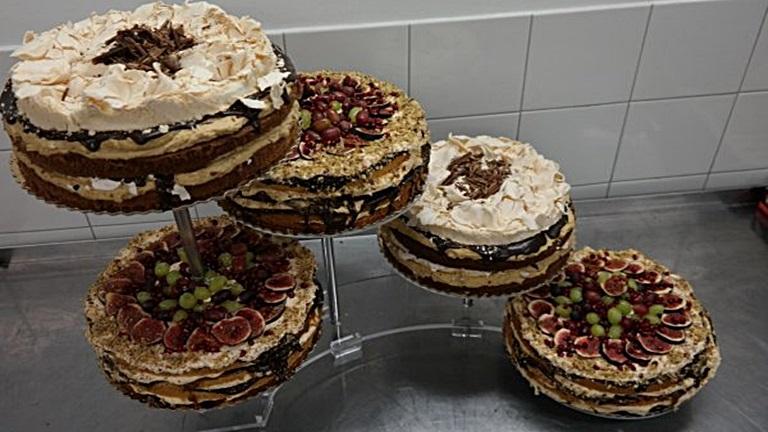 Egy extra őszi menyasszonyi torta története