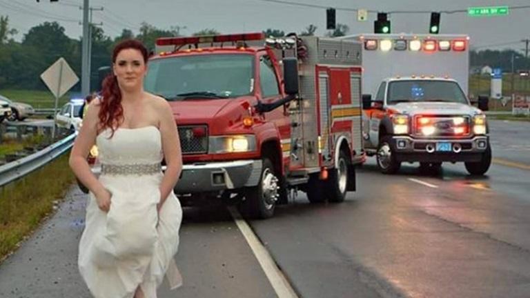Otthagyta az oltárt a menyasszony, hogy életet mentsen
