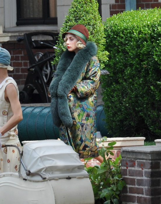 Így néz ki terhesen Lady Gaga