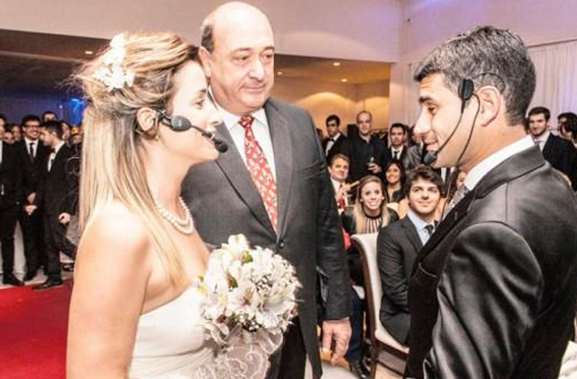 Menő lett a kamuesküvő