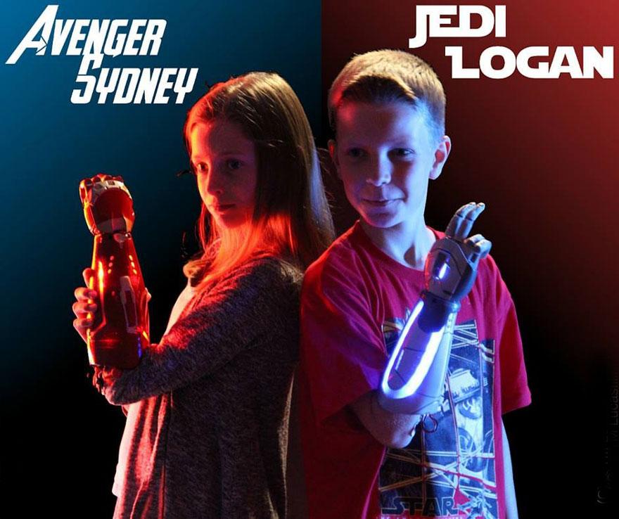 Hétköznapi hősök: Disney-s művégtagok mozgássérült gyerekeknek