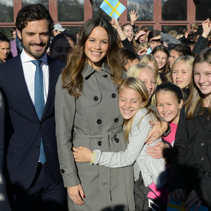 Zsófiát imádják a gyerekek, akikkel a hercegné mindig könnyen megtalálja a közös hangot