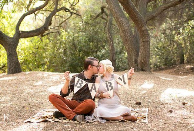 15 zseniális mód, hogy bejelentsd, ha terhes vagy - fotók