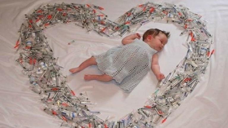Gyönyörű fotó a termékenységi kezelések keserédes csodájáról