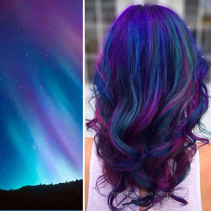 Elképesztő színkavalkád: Galaxishaj - ez az új frizuradivat