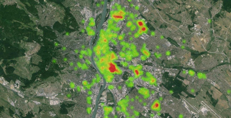 Ágyi poloska térkép: ellenőrizd, mennyire vagy veszélyeztetve!