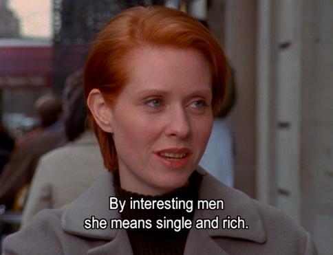 10 felejthetetlen mondat Mirandától a Szex és New Yorkból