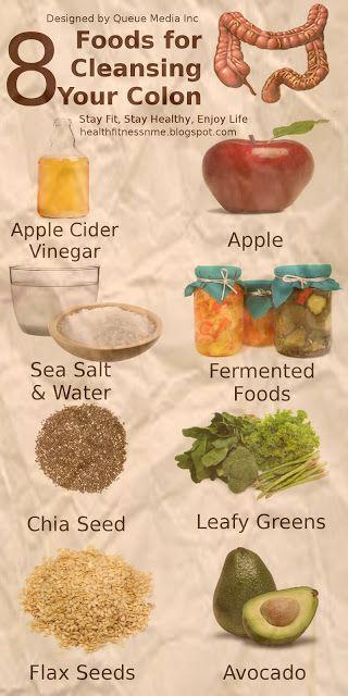 8 étel, ami kitisztítja a beleidet