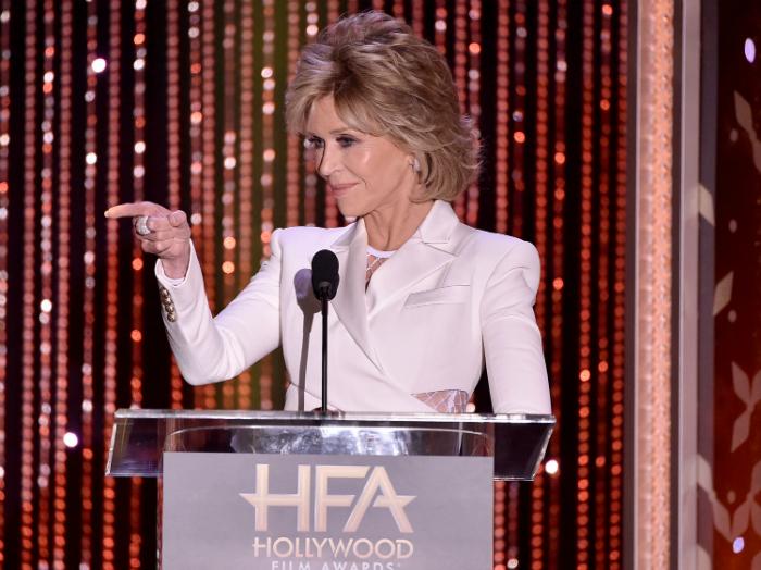 Vadító neccbe bújt a 77 éves Jane Fonda