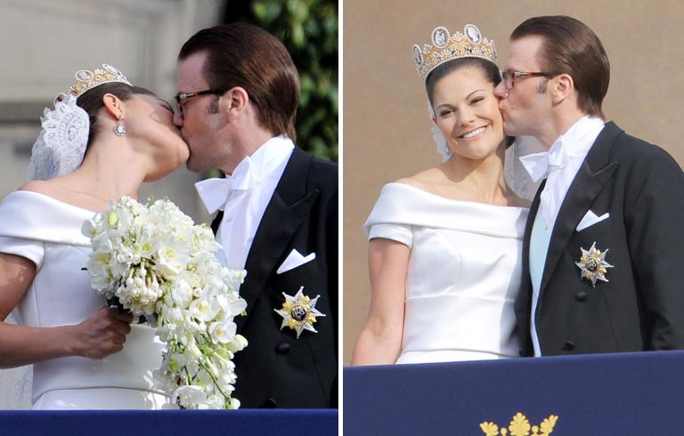 Viktória svéd trónörökösnő és Dániel herceg